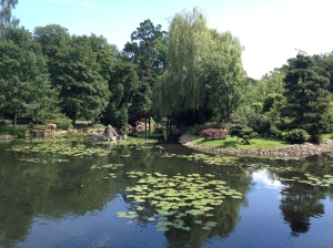 wroclaw, polen, japanse tuin, toerist, reizen