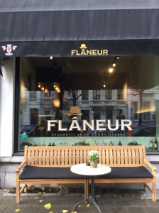 flaneur, spaghetti, restaurant, antwerpen