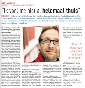 Deze Week, Streekkrant, Bart Van Loo