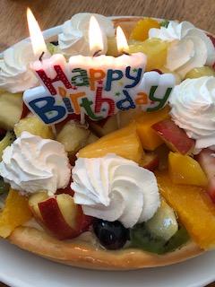 taart, jarig, verjaardag